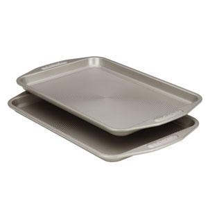 Gray Nonstick Bakeware 2-Piece Bakeware Set