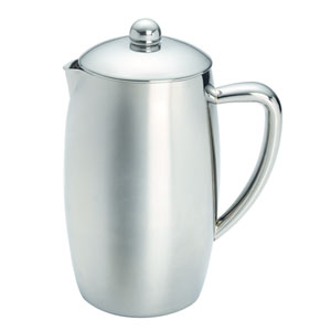 Coffee, Triomphe, 33.5-Ounce,, Self-Insulated Stainless Steel French Press