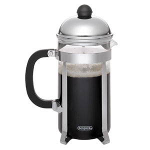 Coffee, Monet, 50.5-Ounce,, Stainless Steel French Press with Glass Carafe