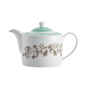 Fruitful Nectar Porcelain Teapot