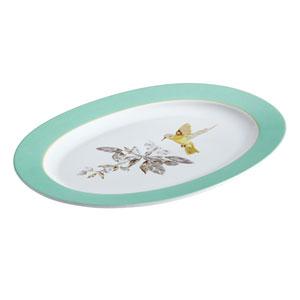 Fruitful Nectar Porcelain 10-Inch x 14-Inch Oval Platter