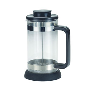 Coffee, Riviera, 33.5-Ounce,, Borosilicate Glass French Press with Coaster and Scoop