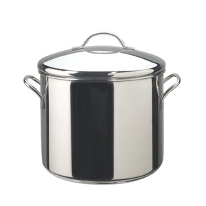 Classic Series Stainless Steel 12-Quart Covered Stockpot