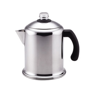 Classic Stainless Steel Yosemite 8-Cup Coffee Percolator