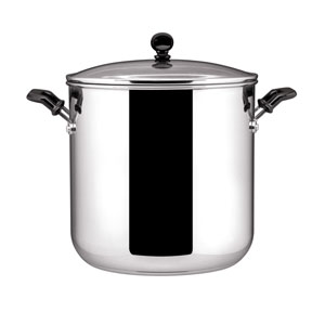 Classic Stainless Steel 11-Quart Covered Stockpot