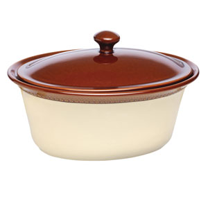 Southern Gathering 3.5-Quart Covered Oval Casserole