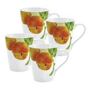 Georgias Bounty 4-Pack Mug Set