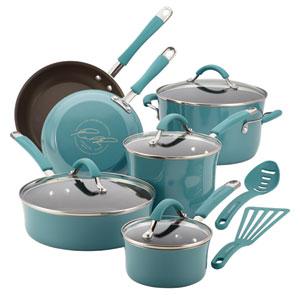 Cucina, Blue Porcelain 12-Piece Set