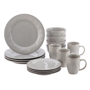 Cucina, Gray 16-Piece Set