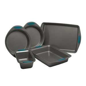 Marine Blue Yum-o Nonstick Oven Lovin Five-Piece Bakeware Set