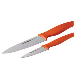 2-Piece Japanese Stainless Steel Fruit and Vegetable Knife Set