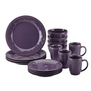 Cucina, Purple 16-Piece Set