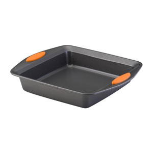 Yum-o, Gray 9-Inch Square Baking Pan