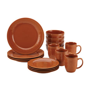 Cucina, Orange 16-Piece Set
