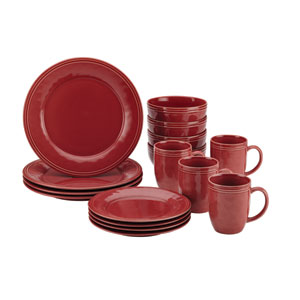 Cucina, Red 16-Piece Set