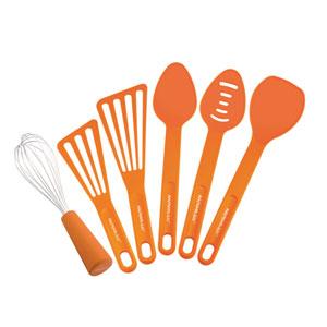 Orange 6-Piece Tool Set