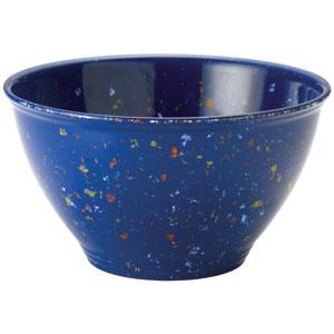 Blue Garbage Bowl
