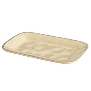 Cucina, Ivory 8-Inch x 12-Inch Rectangular Platter