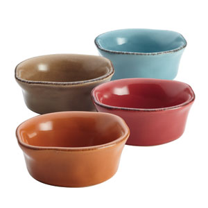 Cucina, Multicolor 4-Piece Dipping Cup Set