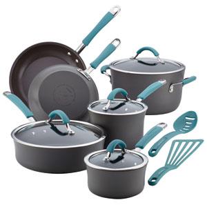 Cucina, Gray and Blue 12-Piece Set