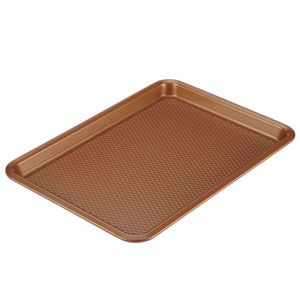 Copper Nonstick 10 x 15 In. Cookie Pan