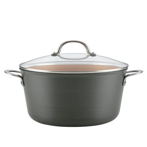 Home Collection Hard Anodized 10-Quart Aluminum Stockpot