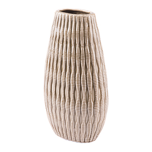 Marino Large Vase Taupe