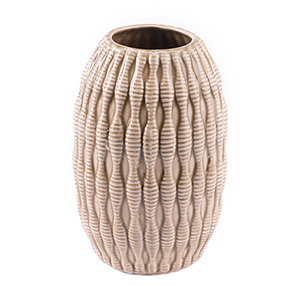 Marino Small Vase Taupe
