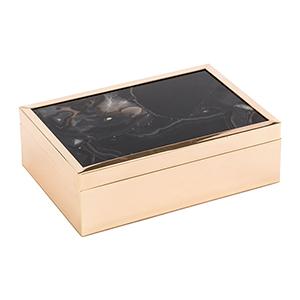Black Stone Box Large Black