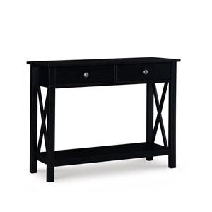 James Black Console Table