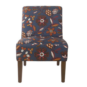 Navy 29-Inch Accent chair
