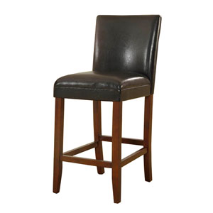 29-inch Faux Leather Barstool