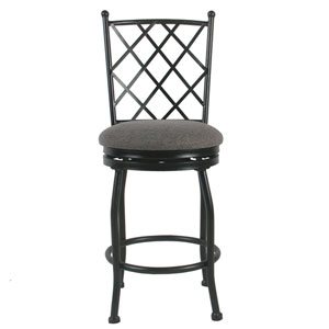 Tristan Metal Counter Stool - Black