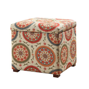 Storage Ottoman, Multi Color