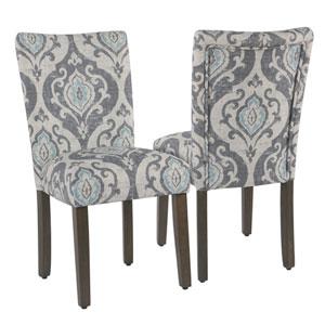 Classic Parsons Dining Chair - Suri Blue - Set of 2