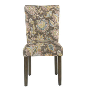 Parsons Chair - Grey Floral (Set of 2)