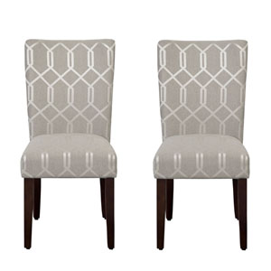 Parsons Chair, Pewter Gray, Set of Two