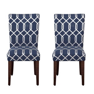 Parsons Chair, Navy Gray, Set of Two
