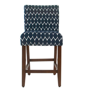 Classic Parsons Counter Stool - Textured Navy