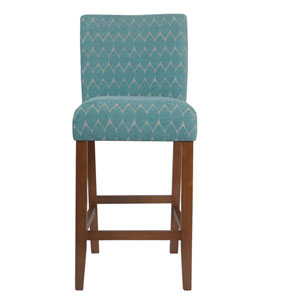 Parsons Barstool - Textured Teal