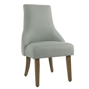 English Arm Dining Chair - Aqua