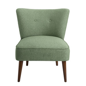 Chadwick Armless Accent Chair - Teal