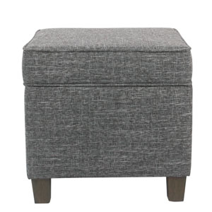 Square Lift Off Ottoman - Gray