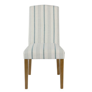 Classic Parsons Dining Chair - Blue Calypso Stripe (Set of 2)
