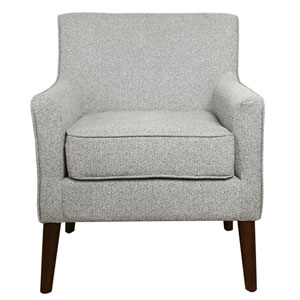Davey Mid Century Accent Chair - Ash Grey