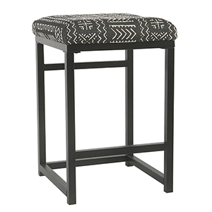 Industrial Onyx Counter Stool