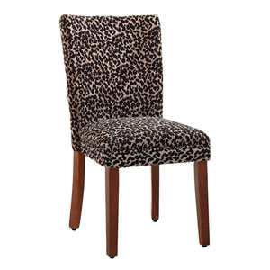 Parsons Chair, Cheetah, Set of Two