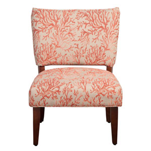 Accent Chair, Coral