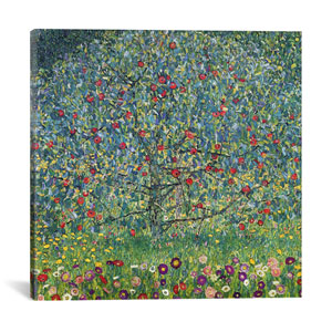 Apfelbaum (Apple Tree) by Gustav Klimt: 26 x 26-Inch Canvas Print