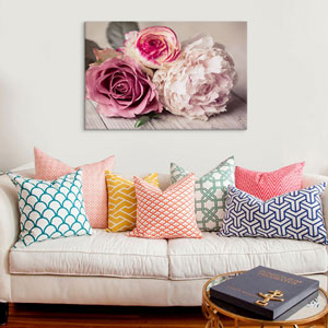Bouquet by Symposium Design: 40 x 26-Inch Canvas Print